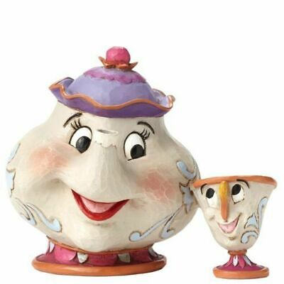 Disney 4049622 Traditions Mrs Potts And Chip Sculpture • 12.20£
