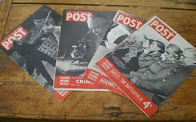 Picture Post Magazines Jan 1942 Feb 1943 May 1943 Aug 1945  • 12£