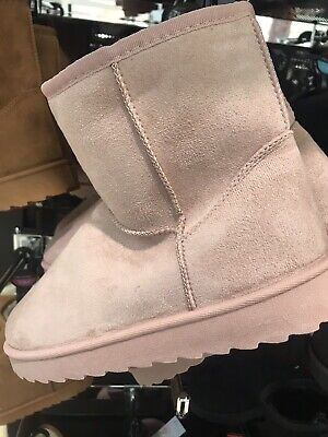Women's Ladies Primark Pink Slip On Boots UK Size 7 Brand New With Tags • 13.98£
