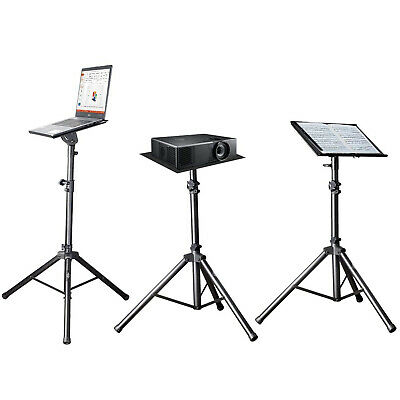 AU59.99 • Buy TechFlo Adjustable Notebook Laptop Projector Tripod Lectern Stand With Case