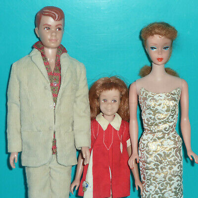 $ CDN41.51 • Buy Vintage Barbie Lot - Titian Hair/red-head #5 Ponytail, Allen And Scooter Dolls