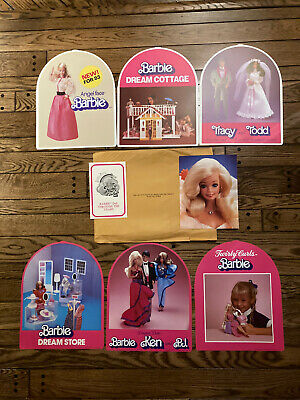$ CDN0.19 • Buy Vintage 1983 Barbie Store Display Set Of 6 End Cap Headers - RARE Mattel 1980's