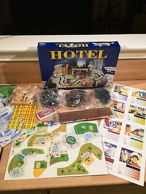 Hotel Board Game - 2004 Parker Edition - New Un-punched On Sprue. • 23£