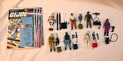$ CDN42.76 • Buy Vintage GI Joe 1988 Figures Lot Complete W/ Whole Cards Storm Shadow