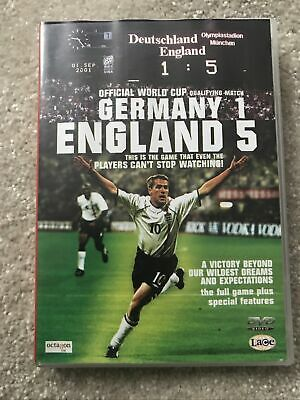 £10 • Buy England 5 Germany 1 DVD Official World Cup Qualifying Match