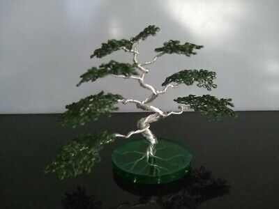 Handcrafted Wire Bonsai Tree • 20£