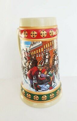$ CDN11.66 • Buy Budweiser Holiday Stein Collection 1993 Hometown Holiday Mug Collectible