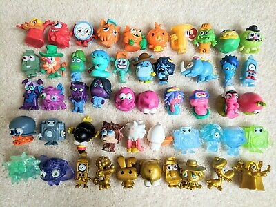 Moshi Monsters Toy Figures Bundle Figurines Lot Of Moshis 50 Different Inc Gold  • 18.50£