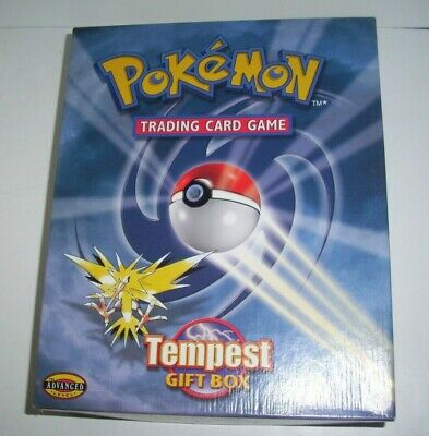 £24.99 • Buy Pokemon Tempest Gift Box Empty Box No Cards Includes Playmat, Coin And Cd Rom