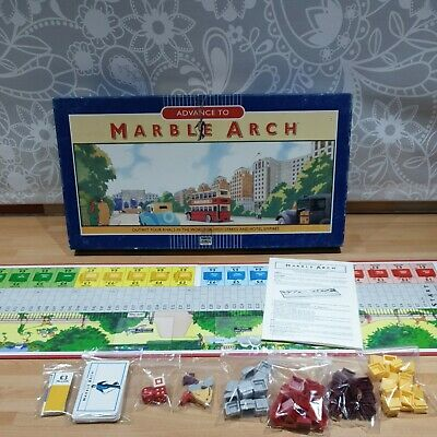 Vintage Advance To Marble Arch Board Game. 1985. Parker Brothers. 98% Complete  • 1.50£