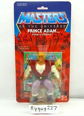 $135 • Buy MOTU, Commemorative Prince Adam, MISB, Figure, MOC, Masters Of The Universe
