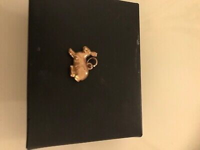 9 Carat Gold Rabbit Charm Vintage Lovely Charm For Any Braclet • 21.50£