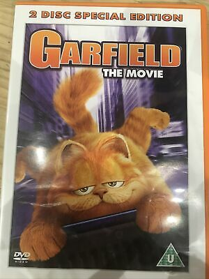 Garfield: The Movie DVD (2004) Region 2 UK Amazing Value At Low Prices • 1£