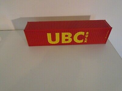 CORGI 1/50 SCALE 40ft. SHIPPING CONTAINER UBC LIVERY  • 4.31£