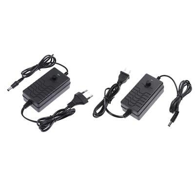 AC To DC Adapter 24-36V 2A Adjustable Power Supply Motor Speed Controller • 6.76£
