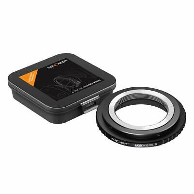 $29.99 • Buy K&F Concept Lens Mount Adapter For M39 Mount Lens To Canon EOS R Camera Body