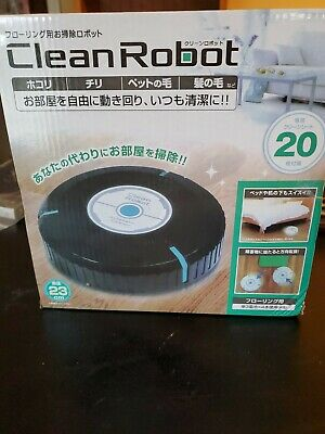Clean Robot, Floor Duster, New , Battery Operated, Home, Wood,  • 7.24£
