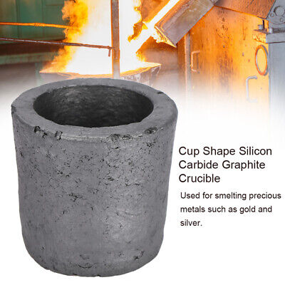 Cup Shape Graphite Furnace Casting Foundry Crucible Melting Tool Ingot Mould • 9.67£