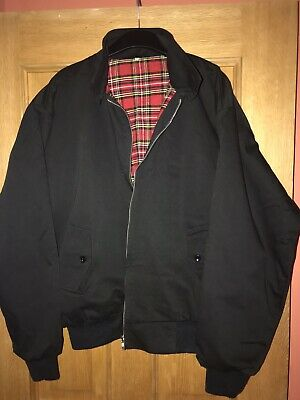 Relco Black Harrington Jacket  • 8£