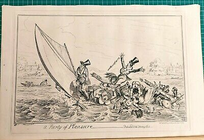 A Party Of Pleasure   George Cruikshank.  • 45£