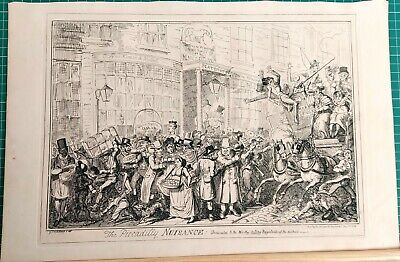 The Piccadilly Nuisance  George Cruikshank.  • 45£