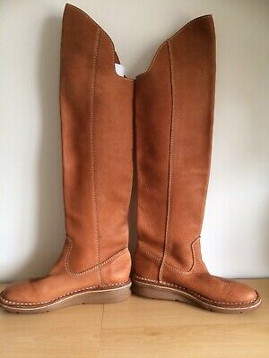 Arche Tan Leather Boots Size 38 • 20£