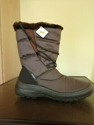 Ladies Pavers Snow Boots Size 6. Brown, New, Never Worn, Lined • 20£