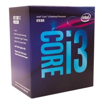AU232.50 • Buy Intel Core I3-8100 3.6Ghz S1151 Coffee Lake 8th Generation Boxed 3 Years Warrant