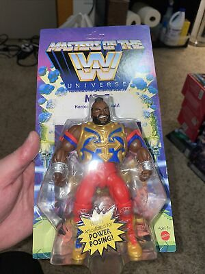$19.99 • Buy Mr. T Masters Of The WWE Universe Wrestling Unpunched Card Case Fresh