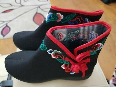 Chinese Style Women Shoes Size 4 New • 9.99£