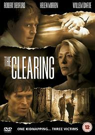 The Clearing (DVD, 2005) Robert Redford, Helen Mirren, Willem Dafoe, FREE P&P • 1.49£