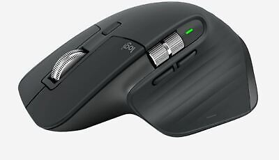 AU179.93 • Buy Logitech MX Master 3 Wireless Mouse – Graphite 2.4GHz USB Receiver Or Bluetooth