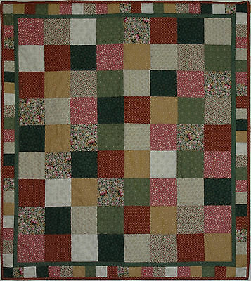 Patchwork Quilt Kit - Country Quilt Kit Easy Sewing Beginners • 13.99£