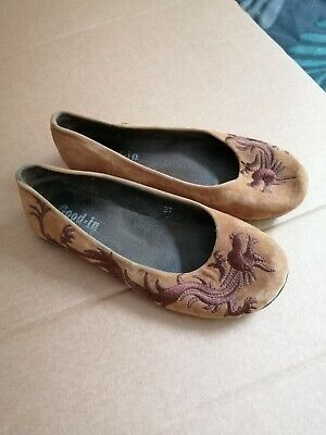 Chinese Style Womens Shoes 37 • 6£