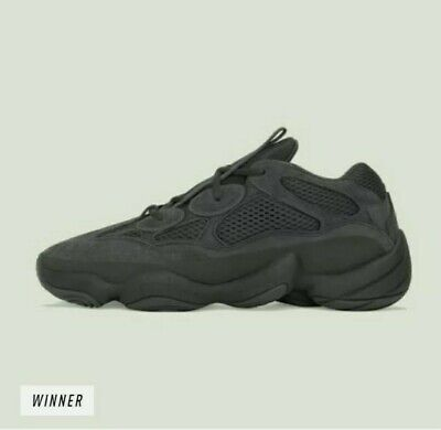 $ CDN387.47 • Buy Adidas Yeezy 500 Utility Black - Size 8 - Confirmed Order 100% Authentic