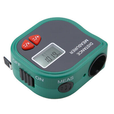 Handheld LCD 23A 12V Ultrasonic Distance Meter -Measurement Electronic Tape • 12.66£