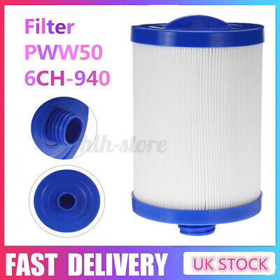 Swimming Pool Filter PWW50 6CH-940 Spa Hot Tub Filters For Baby Kids Children UK • 16.99£