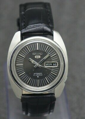 $ CDN11 • Buy 70's Vintage Seiko 5 Automatic Movement 6119-8470 Japan Made Watch.