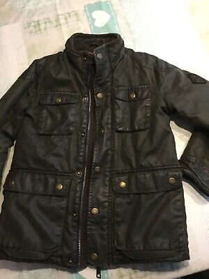 Joules Boys Wax Jacket Age 6 Years • 10£
