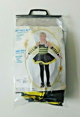 £8.99 • Buy BUMBLE BEE Childrens Girls Fancy Dress Costume Size Large