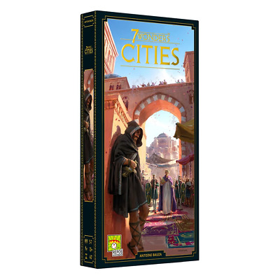 AU60.95 • Buy 7 Wonders New Edition Cities Expansion Board Game NEW