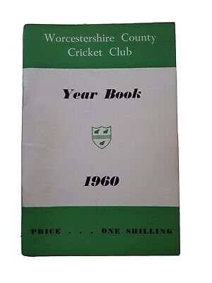 £10 • Buy Worcestershire CCC Year Book 1960