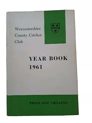 £10 • Buy Worcestershire CCC Year Book 1961