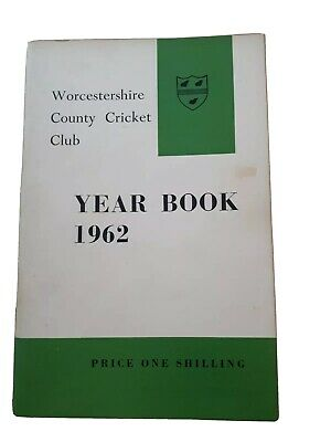 £10 • Buy Worcestershire CCC Year Book 1962