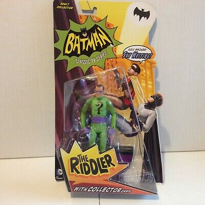THE RIDDLER BATMAN Classic Tv Series 1966 MATTEL 2013 6   • 30£