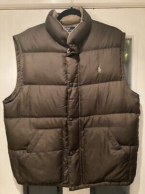 Polo By Ralph Lauren Mens Gilet Size Large • 20£
