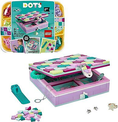 New LEGO 41915 DOTS Jewelry Box Tiles Beads Set, DIY Arts And Crafts For Kids • 37.50£