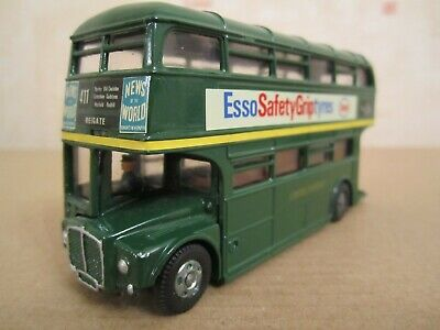 Vintage Near Mint Dinky Toys 289 ROUTEMASTER BUS Esso Tyres Toy Car + Orig Box • 10.50£
