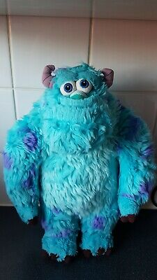 Official Disney Store Monsters Inc Sully Plush Soft Toy Kids Childrens Pixar • 15£