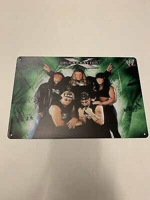 $ CDN17.70 • Buy Dx Logo Wwf Metal Poster De Generation X Wwe Triple H Chyna Outlaws X-pac Elite
